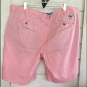 Columbia Shorts - Columbia Men's Pink Golf Shorts